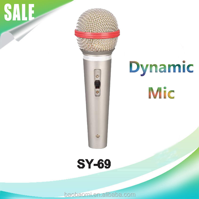 Magic Sing Along Karaoke Microphone SY-69 The Mic With Good Quality Microfone Wired Handheld