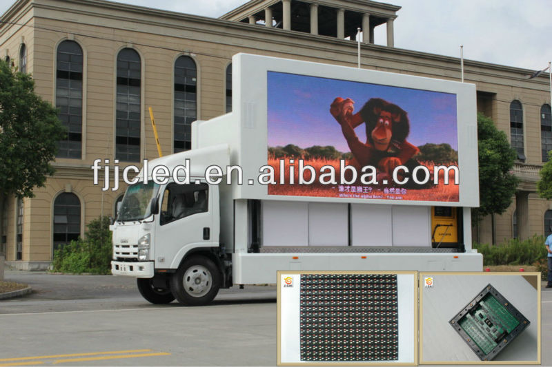 video full xxx on outdoor Jingcai wholesale led mobile advertising trucks for sale