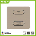 ACTOP lighting switch golden color