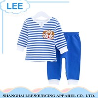 Wholesale kids baby boy's casual clothing sets