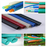 pvc water drain sprial flexible suction hose