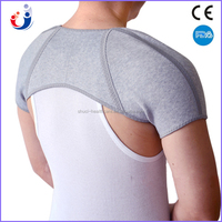 Knitting elastic quality sports bamboo charcoal shoulder protector