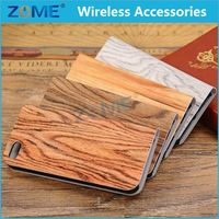 Newest Phone Case For iphone 5C/5S/5 Useful Wooden Leathehr Phone Back Cover Case