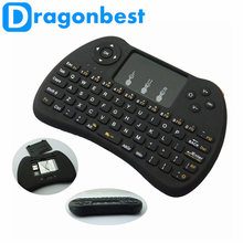 2017 more popular H9 air mouse for Android TV BT remote c120 ott user manual Wireless controll