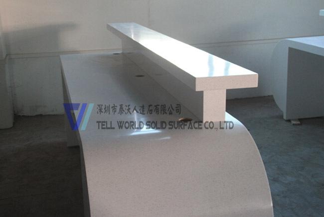 Moderne bureau comptoir de r ception de table haute for Mobilier bureau qualite
