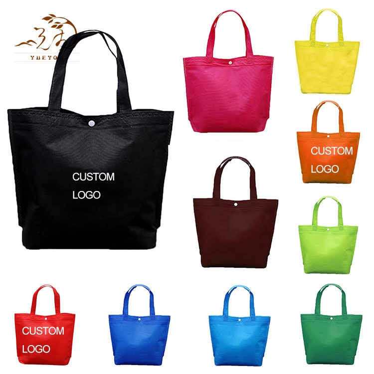 Promotional Custom <strong>Eco</strong> Friendly Non Woven Recycle Shopping Bag