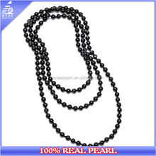 Handmade Real Agate Stones Necklace Long Women Costume Jewelry