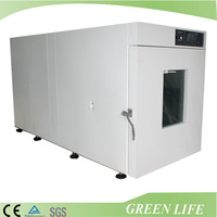 Hot air laboratory electric high temp vacuum oven/vacuum dryer chamber