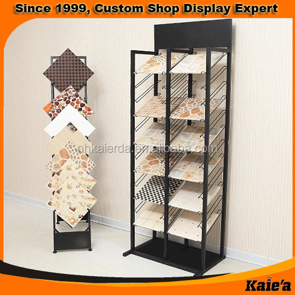 tile showroom display/tile display stand/ceramic tile display stand