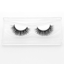 Luxury False Eyelashes Thick Soft Black Fake Eye Lashes Beautiful Horse Hair eyelashes