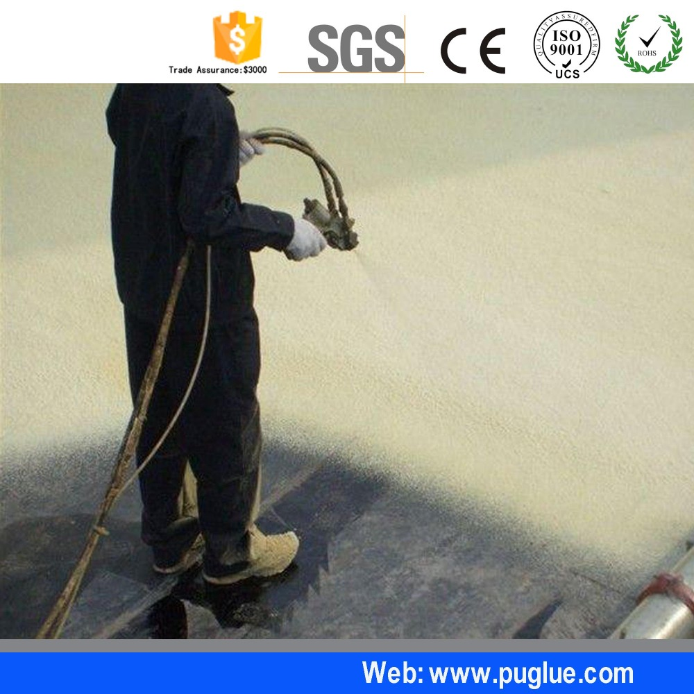 Double components spraying polyurethane foam raw material/marine spray foam