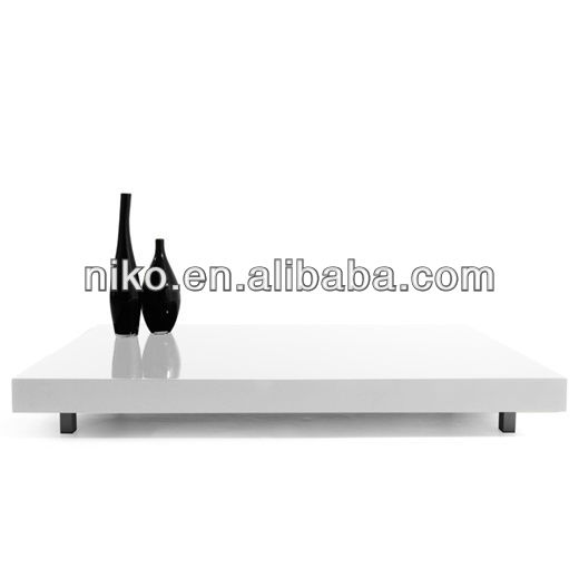 Hot latinos rectangular cocktail table black