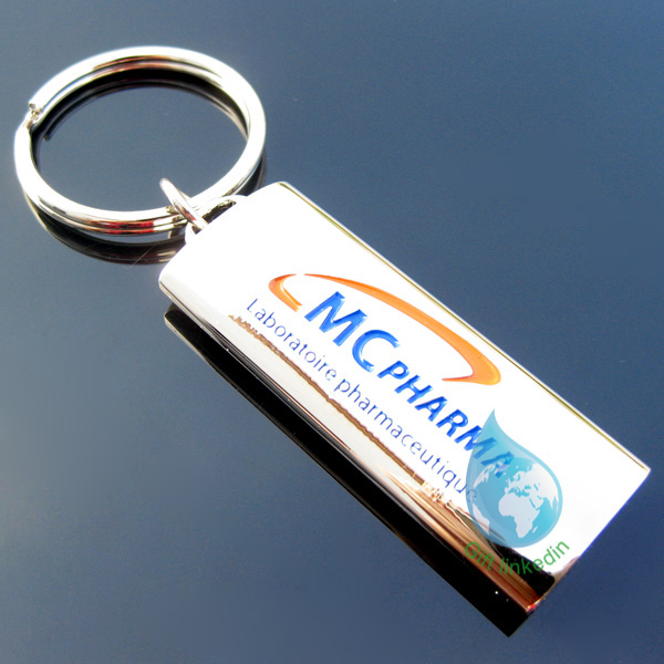 2013 new custom kirsite 3d metal keychain/new product make your own logo metal key chain