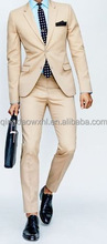 modern city life urban boy dress office uniform blazer coat pants custom elegant khaki men suit