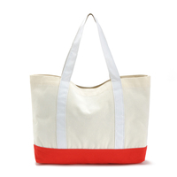 factory audit fashion printed shopper beach tote bag cotton