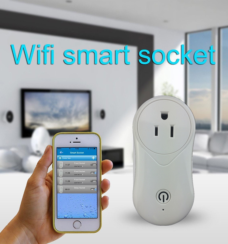 FRANKEVER WIFI POWER SOCKET EU TYPE WIFI SMART PLUG