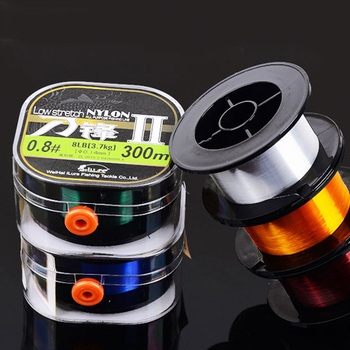 china suppliers Line Fishing plastic spools 260m/300m 5 colors nylon fishing line