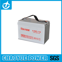 6-EVF-110 rechargeable Lead acid battery for Wheelchair