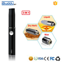 2015 Import Electronic Cigarette Kit Buddy-MP 3 in 1 E Cigarette Manufacturers China Cigarette Wholesale