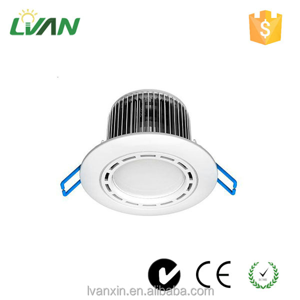 2 years warranty White frame dimmable cob downlight led 20w