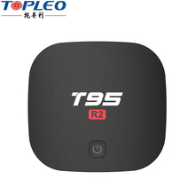 Factory supply android7.1 tv box Amlogic S905W quad core tv box 4k t95 R2