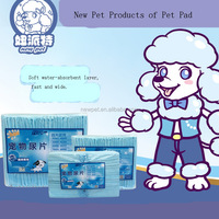 Top grade attractive fashion puppy training pads dog pee cat urine superabsorbent pet pad