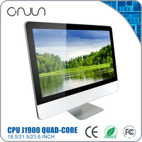 Free shipping wholesale all in one pc intel J1900 quad core 18.5 inch laptop computer for classroom