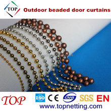 Bronze/Copper outdoor beaded door curtains