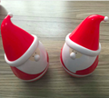 most popular mini roly poly speaker Christmas gifts new Santa Claus speaker