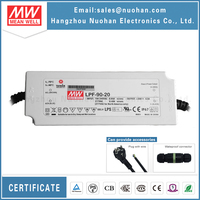 Mean well 90w 20v led driver with PFC function/meanwell driver for led street light/90w 20v power supplies/ip67 waterproof