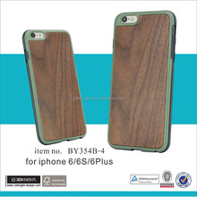 Real Wood Mobile Phone Case Custom,TPU Mobile Phone Case Factory, China Funky Mobile Phone Case For apple iphone