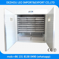 LEO-4224 best selling commercial chicken eggs incubator for hatching eggs