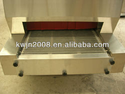 2000kg tunnel quick freezer for food process