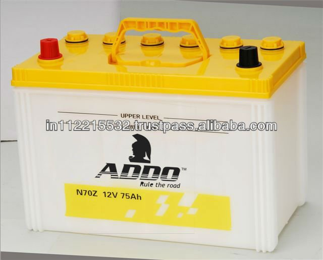 N60 Maintenance Free Car Batteries 12V 60AH.