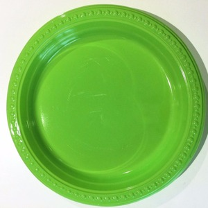high quality 9 inch PS tableware plastic plate