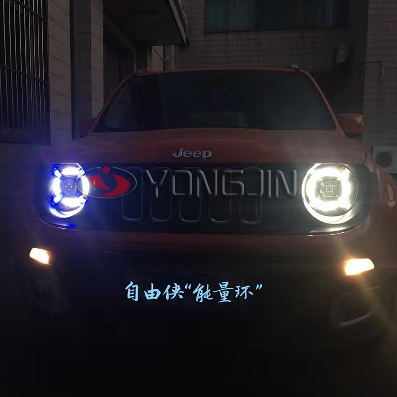 new arrivals 2017 For Jeep Renegade BU LED Head Lamp HID Xenon Bulb and 35W Ballast 2014-2016 Year