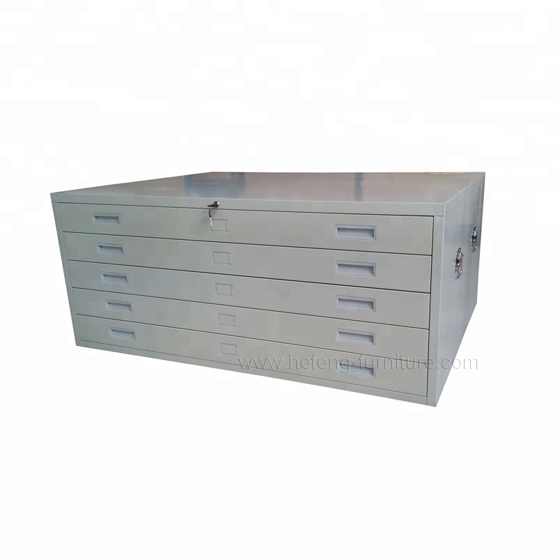 Archive storing solutions metal mapdrawers JF-PL001