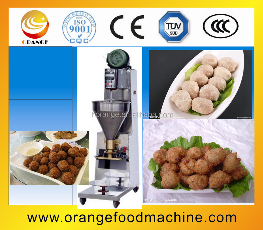 High quality beef meatball form machine