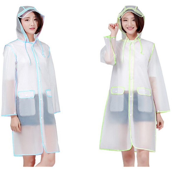 Promotion EVA Rain Poncho, Raincoat with EVA Bag