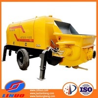 Diesel engine concrete pump with low emissions on sale