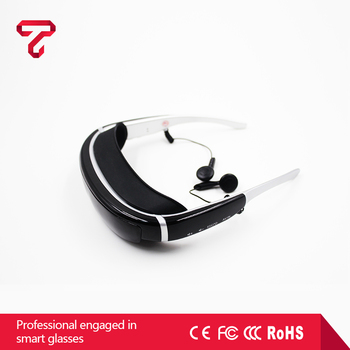 New arrival fashionable newest design 40 channel HD Video Glasses