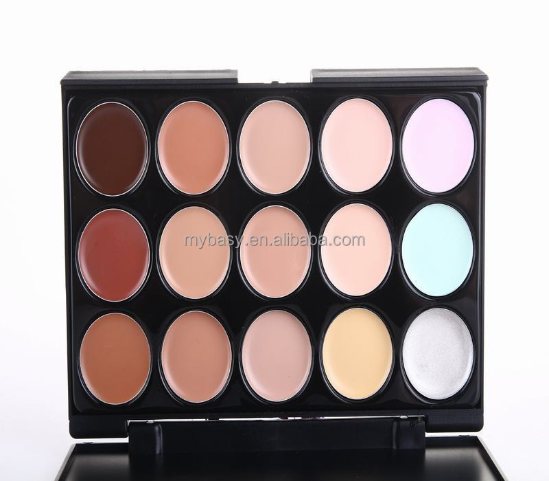 Mybasy Make Up Facial Cream Care Professional 15 Color <strong>Face</strong> Makeup Concealer Palette