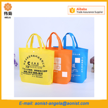 Tote Folding Shopper Reusable Shopping Bag Non-woven wholesale Grocery Storage Bag
