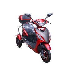 Hot selling 3 wheel electric car three wheel motorcycle scooter tricycle motorcycle
