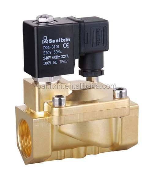 polot operated type Gas solenoid valves