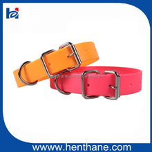 Wholesale Double Buckle PVC Pet Dog Collar