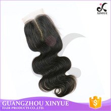 Sexy Lady Virgin Indian Loose Wave Human Hair Lace Closure