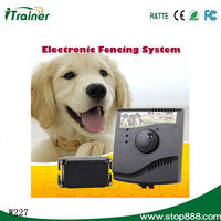 New Smart Dog In-ground Pet Fencing product with waterproof collar JF-W227D