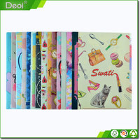 high quality file paper folder folders with plastic flap