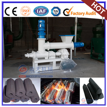 Big Discount Double Screw BBQ And Shisha Coconut Charcoal Extruder Briquette Machine